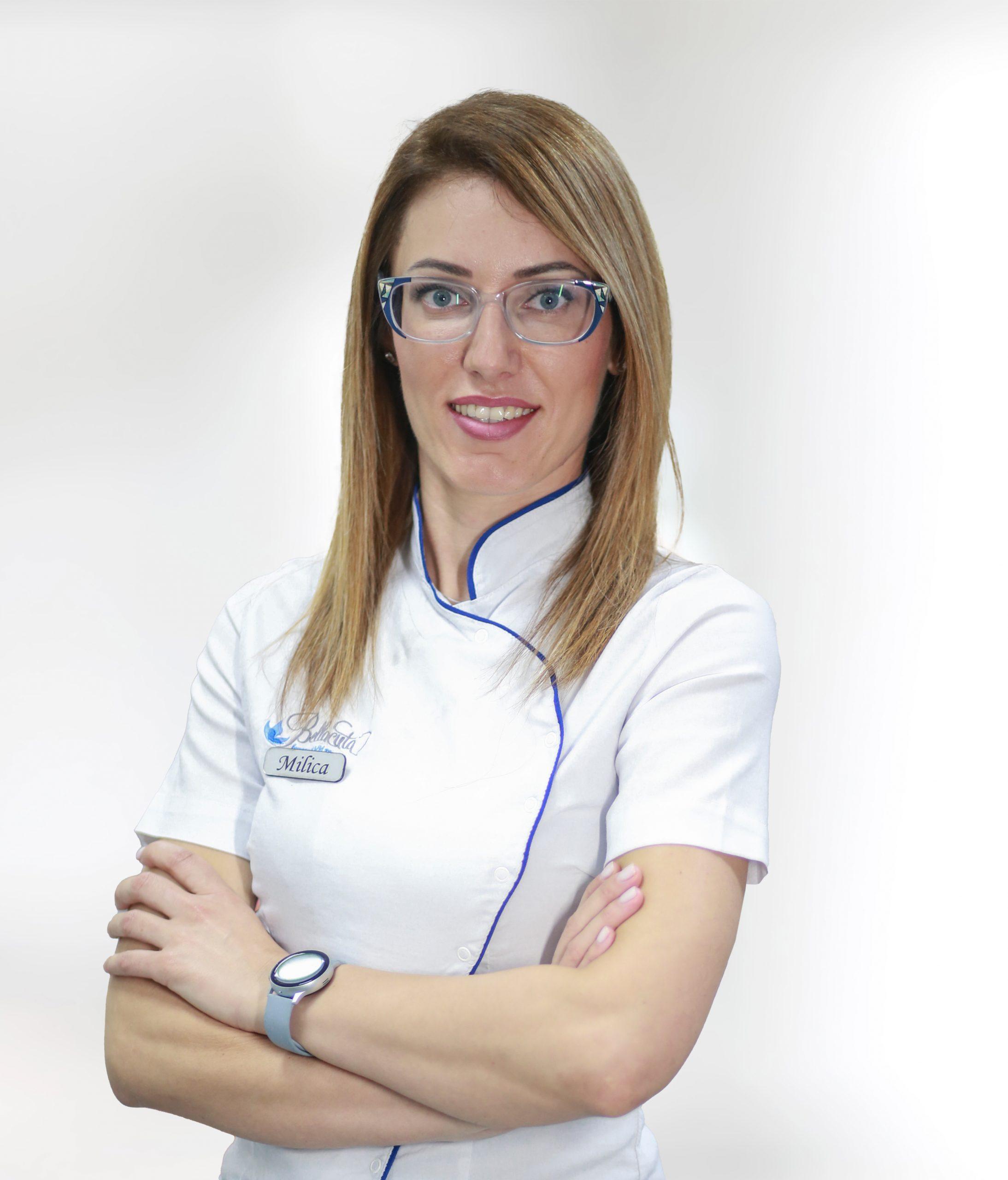 Milica Miljević - kozmetičar i manuelni terapeut
